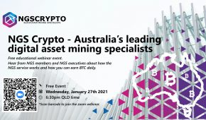 Australia's NGS Crypto Live Web Stream – Learn About Bitcoin Investing