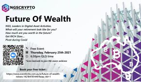 Future Of Wealth – Learn About Bitcoin – Free Webinar on 25 Feb