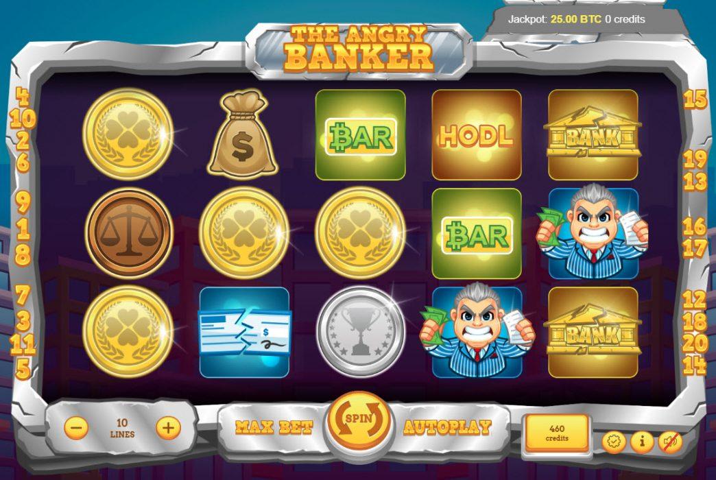 """【区块链游戏】新游戏""""愤怒的银行家""""在Bitcoin.com上发布"""