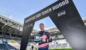 Ronaldo Receives 770 $JUV Tokens – The First Player Ever To Be Rewarded With Crypto