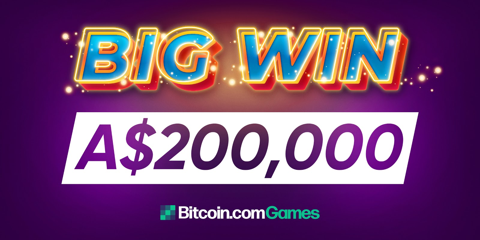 Winner Cashes Out A$200,000 from Bitcoin.com Games