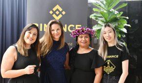 Binance Australia Host Meetup in Brisbane for International Women's Day