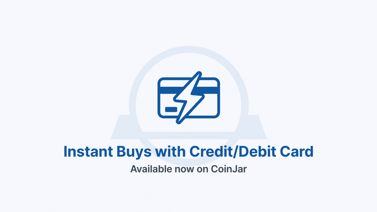 Buy Crypto Instantly With Your Visa or Mastercard On CoinJar