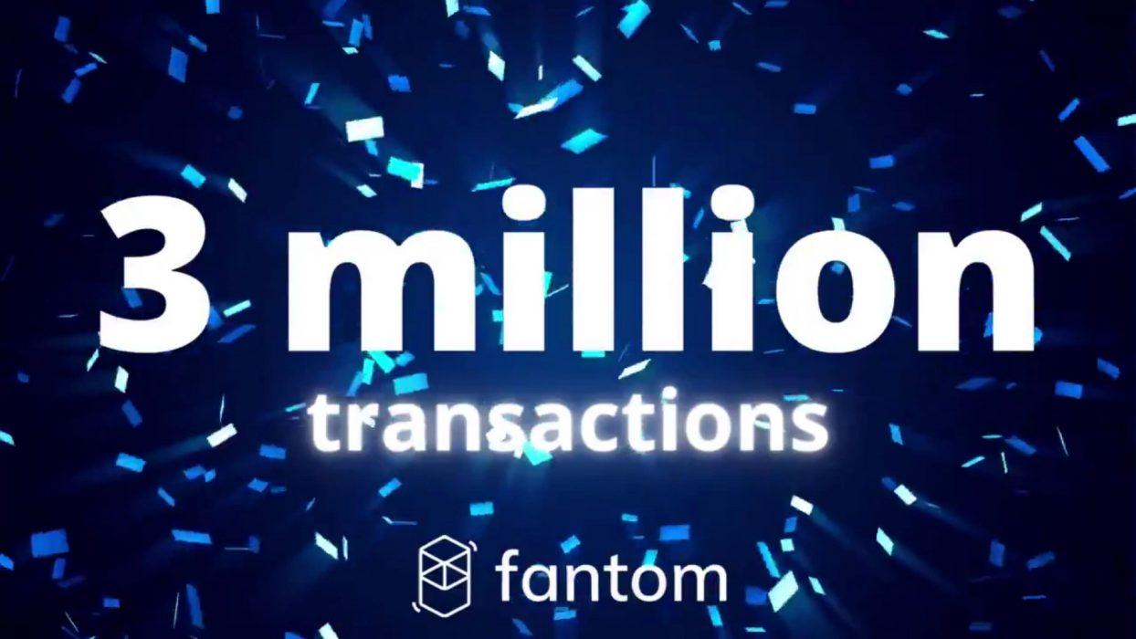 Australian Blockchain Platform Fantom Surpasses 3 Million Transactions