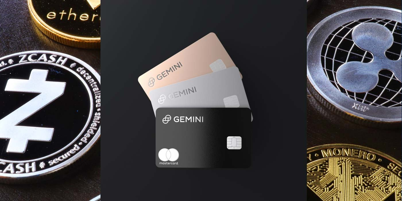 Gemini Partners With Mastercard To Launch World Crypto Rewards Credit Card