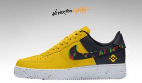 Binance BNB Crypto Nikes Custom Designed By A Creator