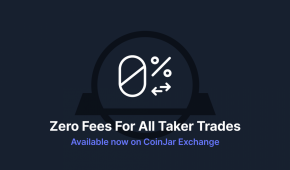 """CoinJar Exchange launches 0% fees on all """"taker"""" trades"""