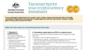 The ATO Publish Crypto Tax Tips Sheet 2021