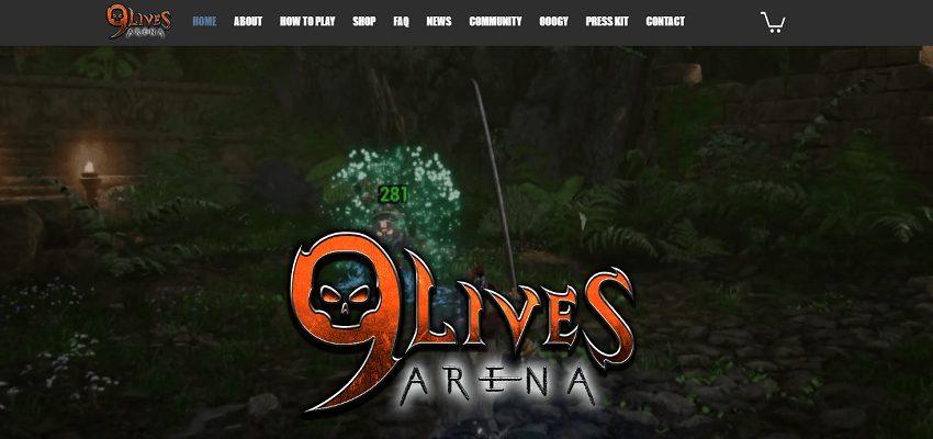 9 live arena blockchain-based game
