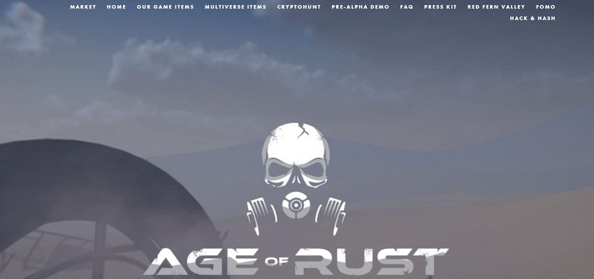 Age of rust blockchain-based game