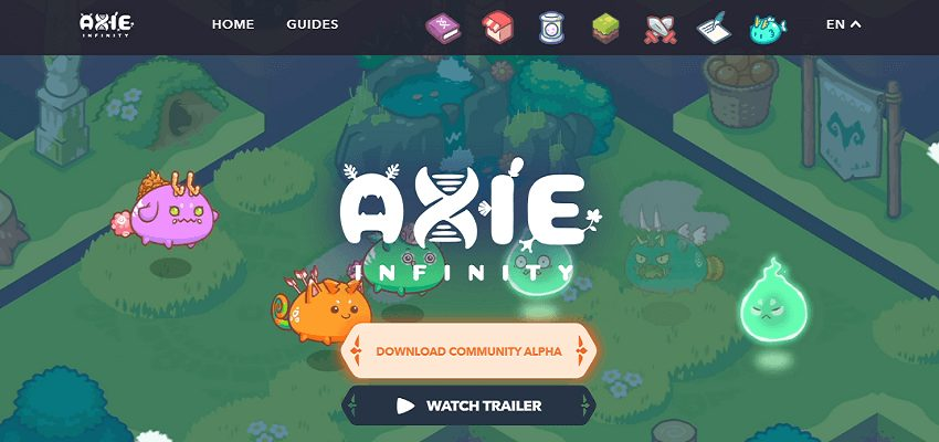 AxieInfinity blockchain-based game