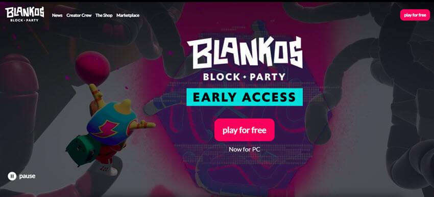 Blankos blockchain-based game