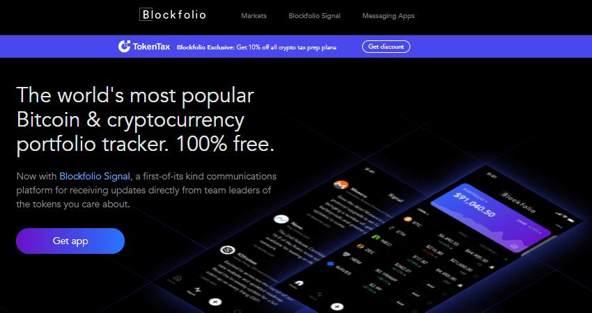 Blockfolio crypto tools