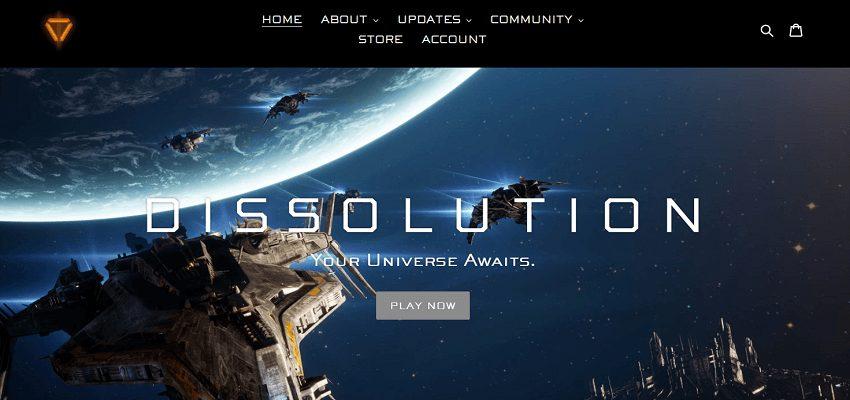 Dissolution blockchain-based game