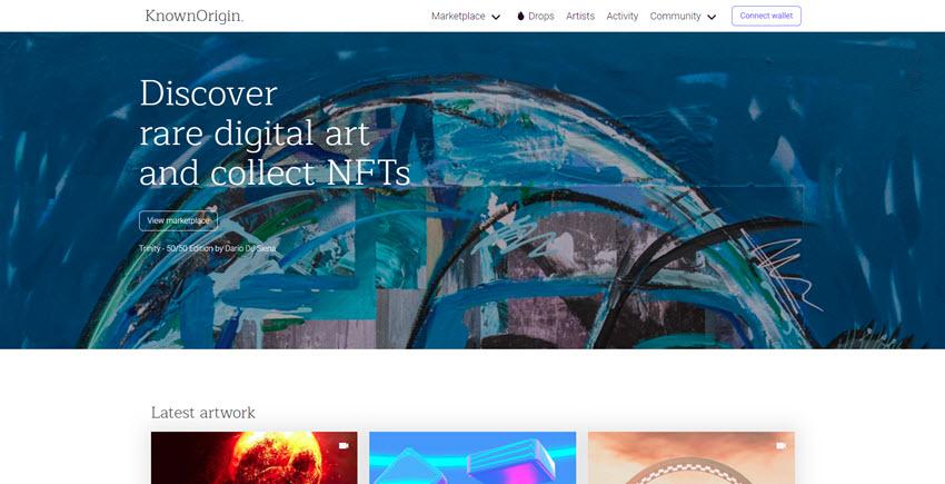 KnownOrigin NFT Marketplace