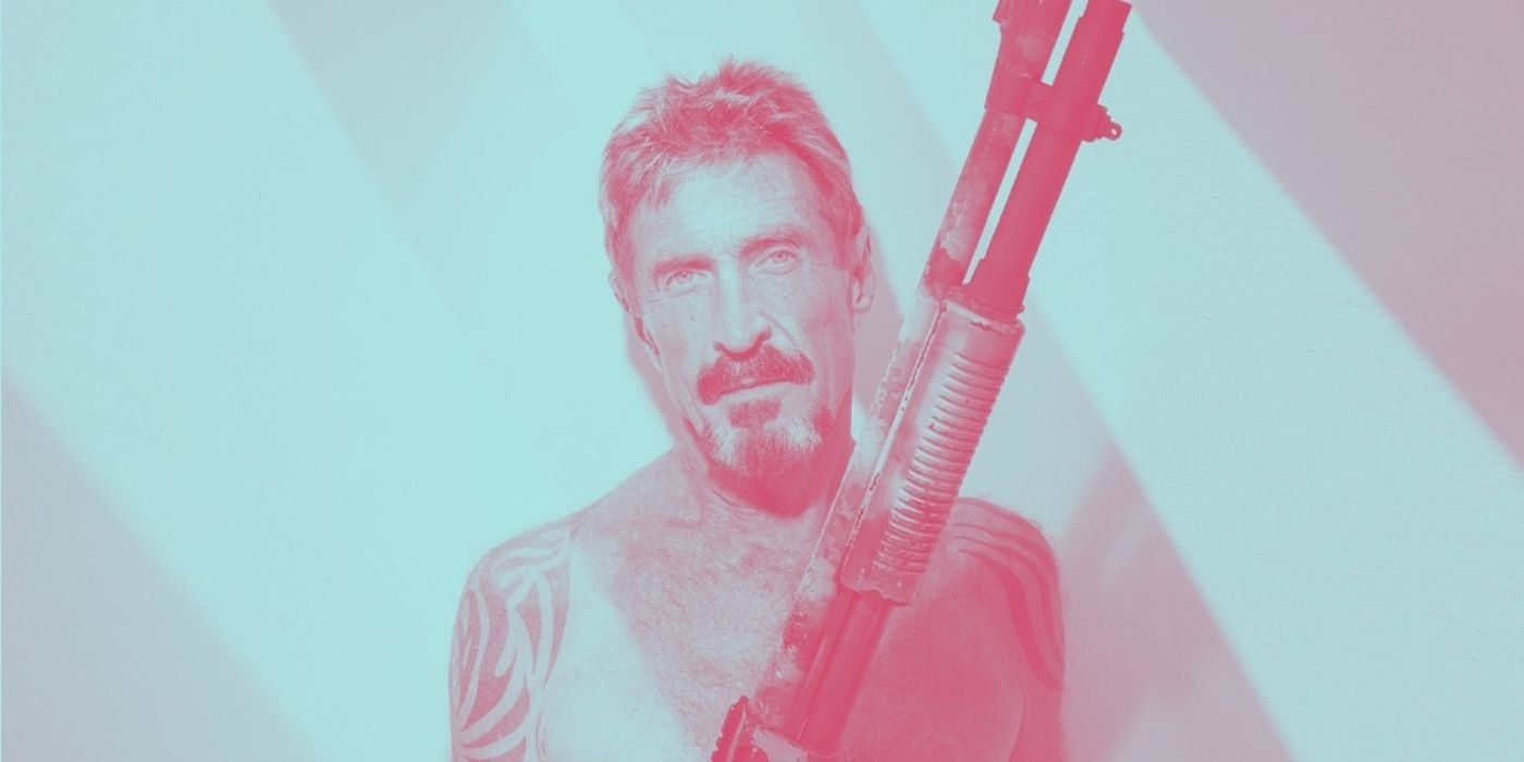 Biographer Claims McAfee Went from $100 Million to Broke