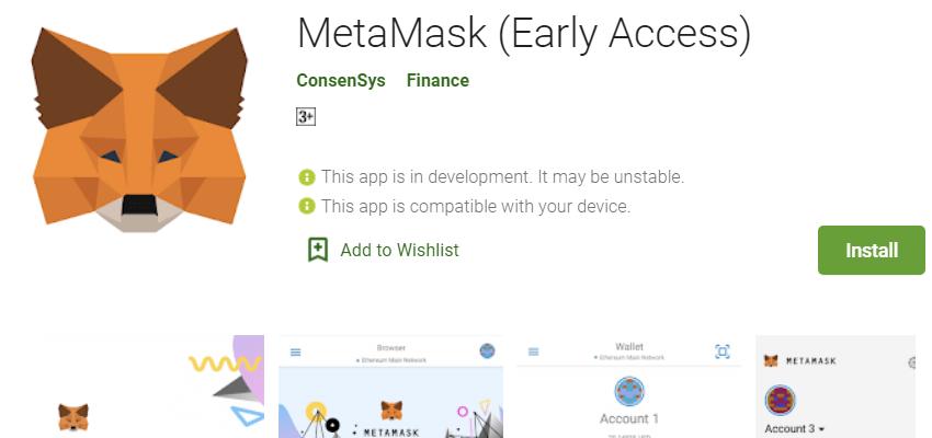 Crypto enabled MetaMark browser plugin
