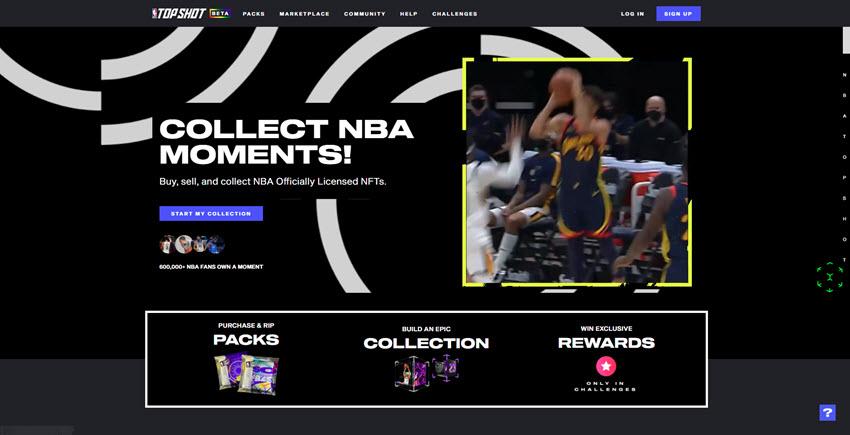 NBA NFT Marketplace
