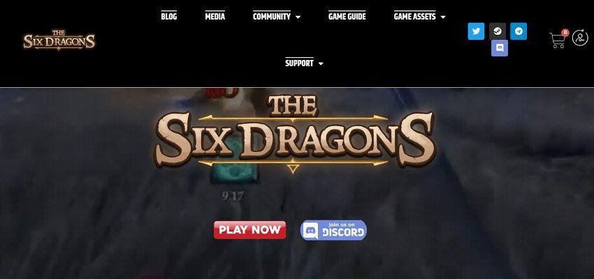 Six Dragons blockchain-based game