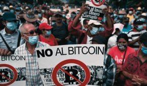 Anti-Bitcoin Protests Fill the Streets of El Salvador Amid BTC Legal Tender Launch