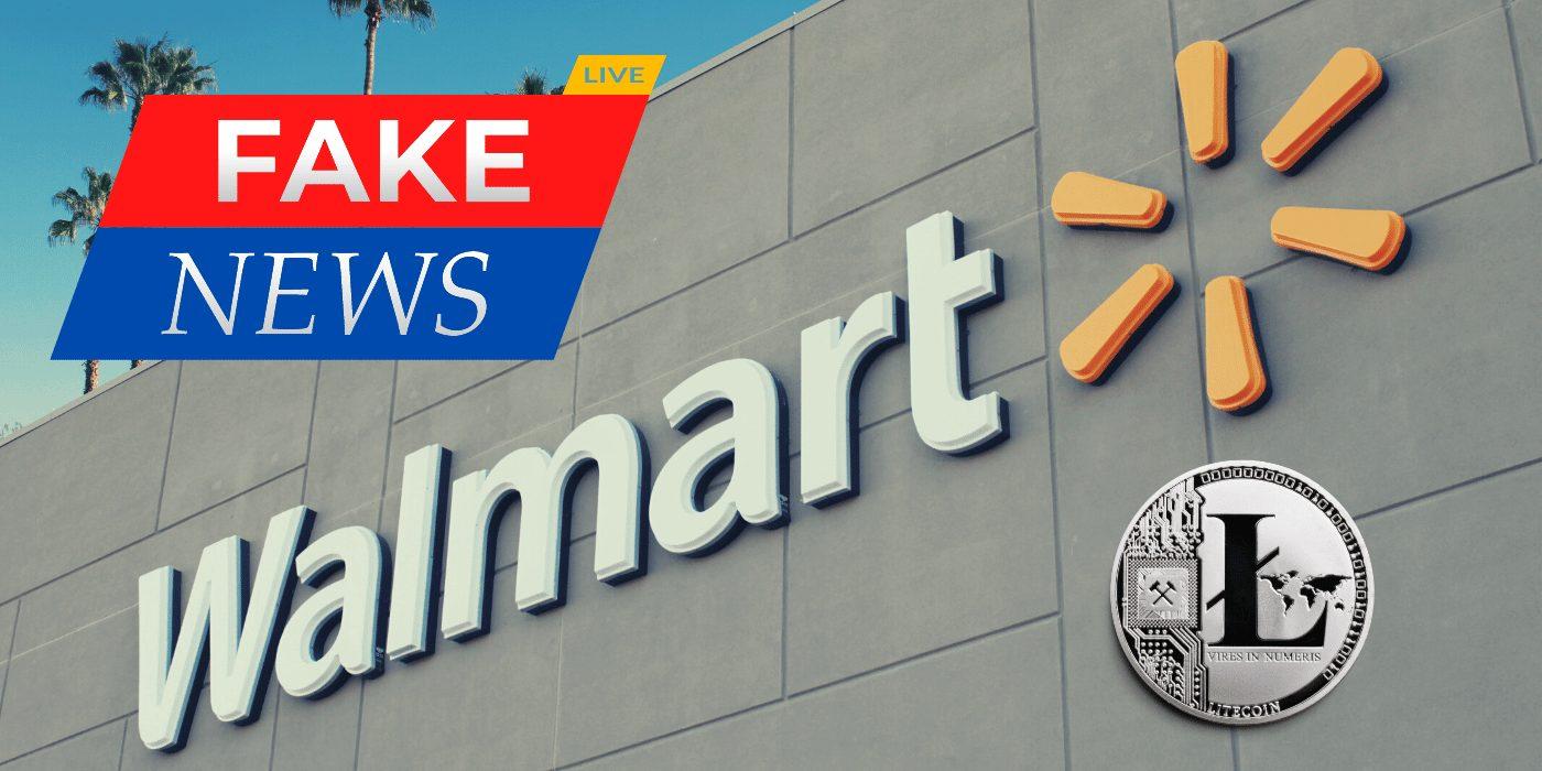 Aemilius Cupero News: Fake News Alert: Litecoin Surges on Walmart Adoption Hoax