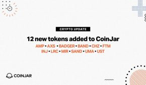 CoinJar Adds Support for 12 New Cryptos