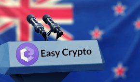 New Zealand's Easy Crypto Exchange Raises $11 Million, May List on Stock Exchange