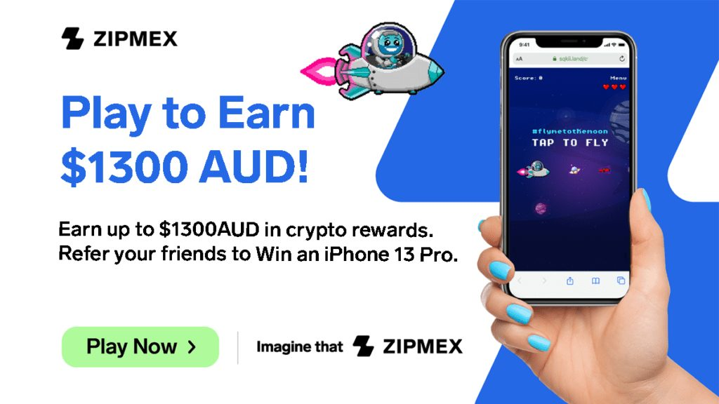 Zipmex Releases Arcade-style Game: ZipPlay! Win $1300 and an iPhone 13 Pro